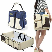 3 in 1 Portable Travel Bag Baby Infant Folding Bed Multi-purpose Carrycot