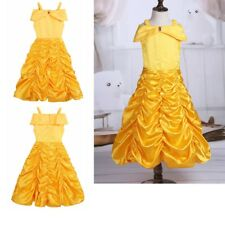 Kids Girls Fairy Tale Dresses Costume Princess Party Fancy Cosplay Dress