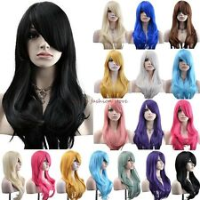 Women Wigs Long Layer Full Hair Wig Cosplay Costume Party Daily Dress Free Ship