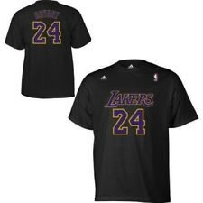 KOBE BRYANT #24 LOS ANGELES LAKERS NBA GAME TIME NAME/NUMBER LOGOS T-SHIRT NWT