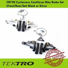 Tektro CR720 Cyclocross Touring Cantilever Brake Set (Front / Rear) Black-Silver