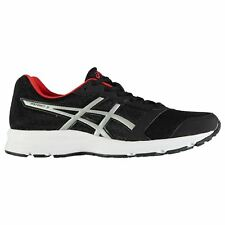 Asics Patriot 8 Running Shoes Mens Black/Red Jogging Trainers Sneakers