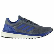 adidas Response Running Shoes Mens Blue/White Jogging Trainers Sneakers
