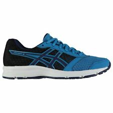 Asics Patriot 8 Running Shoes Mens Blue Jogging Trainers Sneakers