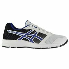 Asics Patriot 8 Running Shoes Mens White/Blue Jogging Trainers Sneakers