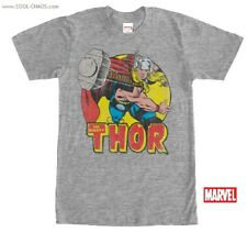 The Mighty Thor T-Shirt / Marvel Comics,60s Throwback,Retro Thor Men's Tee