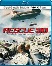 Rescue 3D~An Instant of Courage (Blu-ray 3D/Blu-ray) **Free Shipping**