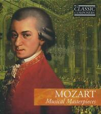 MOZART MUSICAL MASTERPIECES CLASSIC COMPOSERS CLASSICAL MUSIC CD
