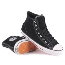 Converse CTAS Pro Hi Black Black White Mens Suede Skateboard Shoes