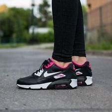 Nike Air Max 90 Kids girls Black trainers sneakers size 3.5Y, 4.5Y, 5.5Y, 6Y NEW
