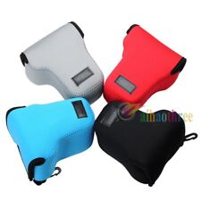 4 Colors Camera Protector Case Bag Cover For Canon EOS M M2 EF-M 18-55mm Lens