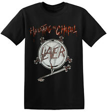 Slayer Tee Cool Retro Old Band Vintage Classic Heavy Rock Band T Shirt 1-A-106