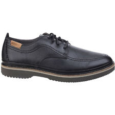 Hush Puppies Mens Kurt Bernard Lace Up Leather Cushioned Oxford Shoes