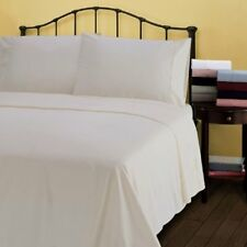 UK Bedding Collection 100% Egyptian Cotton 1000 Thread Count Ivory Solid