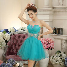 Short Mini Homecoming Cocktail Party Evening Bridesmaid Dress Formal Prom Dress