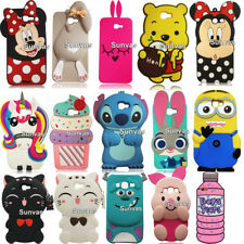 Cartoon 3D Silicone Case Back Cover Skin For Samsung Galaxy J5 Prime J7 Prime