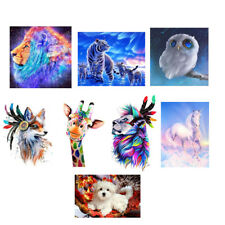 5D DIY Diamond Painting Kit Animals Cross Stitch Crafts For Home Room Decor
