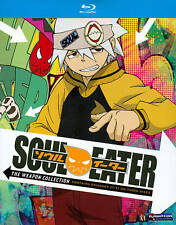 Soul Eater: Parts 3 and 4 (Blu-ray Disc, 2011, 3-Disc Set)