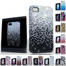 For Apple iPhone 4/4S Deluxe Diamond Rhinestone Bling Shiny Case Cover