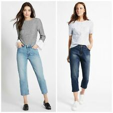 Ladies Cropped Jeans in Pale or Dark Blue RRP £22 from Marks and Spencer