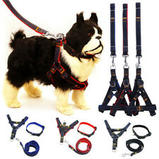 Dogs Cats Adjustable Walking Leash Harness Training Safe Rope Brace Pet Supplies