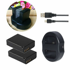 LP-E10 Battery / USB Charger For Canon EOS 1100D 1200D Rebel T3 T5 T6 Kiss X50