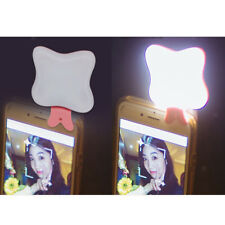 Selfie LED Butterfly Flash Fill Light Clip Camera For SmartPhone iPhone Android