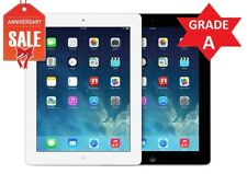 Apple iPad 4th WiFi + Cellular Unlocked | Black White | 16GB 32GB 64GB 128GB (R)