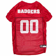 Pets First Wisconsin Badgers Mesh Jersey