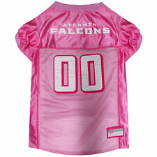 Pets First Atlanta Falcons NFL Pink Mesh Jersey
