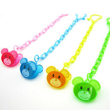 Cartoon Baby Dummy Pacifier Soother Nipple Chain Clip Buckle Dummy Holder TB