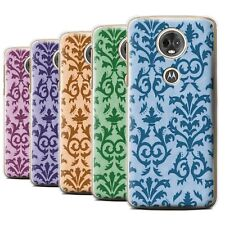STUFF4 Back Case/Cover/Skin for Motorola Moto E5 Plus 2018/Scroll Pattern