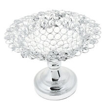 Upscale Crystal Fruit Tray Candy Dish Cake Bread Platter Wedding Table Decor