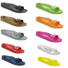 Birkenstock Madrid EVA Rubber Waterproof Slides Sandals Shoes Strap mens womens