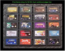 Nintendo GameBoy Advance GBA Game (Select Your Game-Price Varies) Lot #27