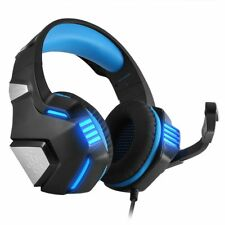 Hunterspider Wired 3.5mm Gaming Headsets Bass Headphones PS4 Mic Noise Canceling