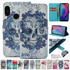 For Xiaomi PU leather 3D printed flip wallet phone case Dreamcatcher strap Stand