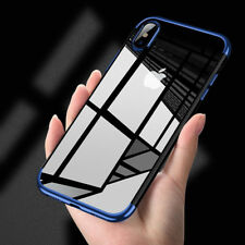 For Apple IPhone X 360° Clear Case Hybrid Slim Shockproof Soft TPU Bumper Cover