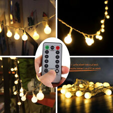 String Lights Lamps with Remote Control 5M 50LED Party Christmas Tree In/Outdoor