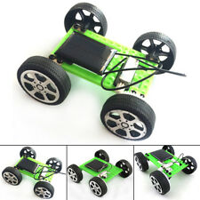 Electric Solar Car Model Climbing Toy DIY Educational Assemble Puzzle Kit Gift