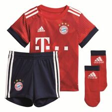 Adidas FC Bayern Munich Football Soccer Home Kids Infant Baby Kit Set 2018 2019