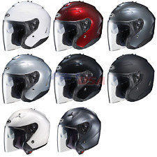 HJC IS-33 II Niro Motorcycle Open-Face Helmet
