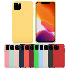 Luxury Silicone Case For iPhone 11 Pro MAX XR XS MAX XS X 7 8 Plus Genuine Cover