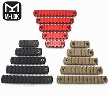 3Color 5/7/9/11/13 Slot M-lok Picatinny/Weaver Rail Section For M-lok Handguard