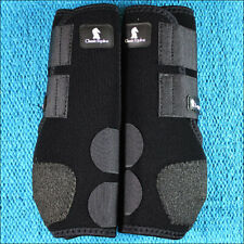 U-CLASSIC EQUINE LEGACY SYSTEM HORSE HIND LEG SPORT BOOT PAIR BLUE