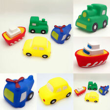 Baby Toddler Car Boat Bathtime Floating Squeaky Sqeeze Bath Toys Water Fun Play