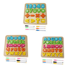 Wooden Matching Block Board Shape Sorter Educational Toy Prescool Match Game