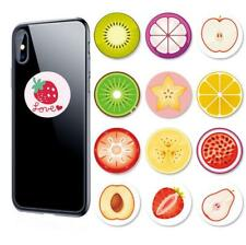 Cute Fruits Phone Holder Expanding soft Stand Hand Grip Mount For iPhone Samsung