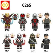 X0265 Blocks Bricks Super Heroes Avengers 4 Iron Man MK85 Ant Man Hawkeye War
