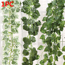 Hanging Foliage Flowers  Artificial Ivy Leaves Vine Garland Plants Fake Foliage